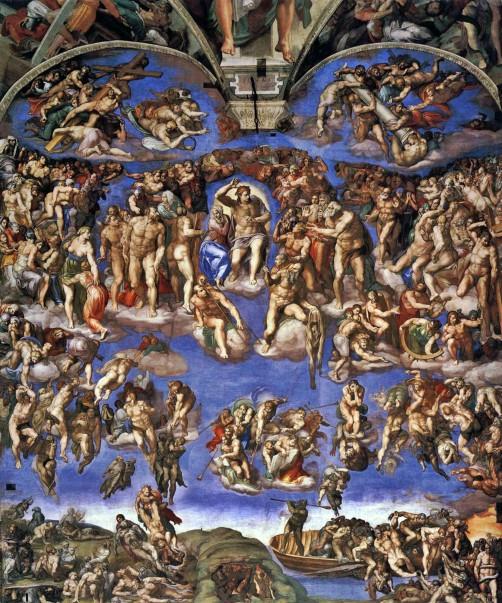 Michelangelo Buonarroti, Giudizio universale