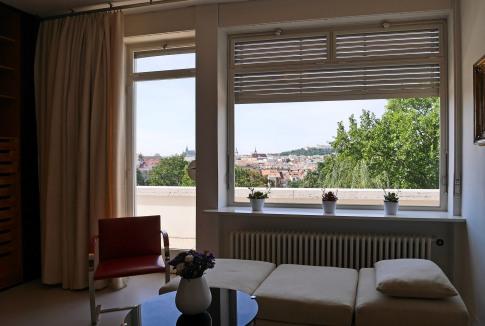 Villa Tugendhat, interno, camera da letto