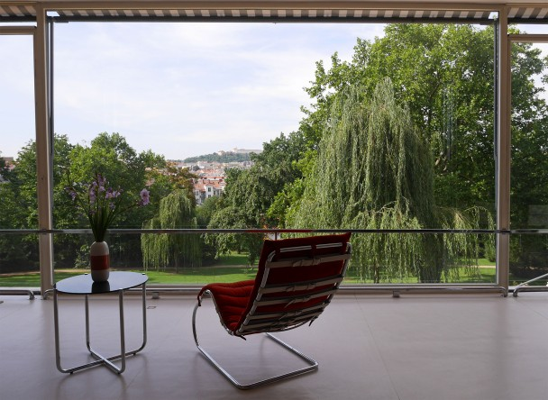 Villa Tugendhat, interno