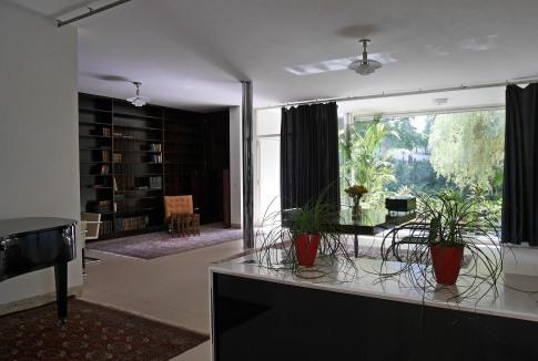 Ludwig Mies van der Rohe, Casa Tugendhat, Brno - interno