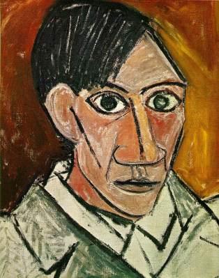 Pablo Picasso, Autoritratto, 1907
