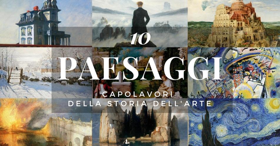 Un incanto di panorama: come i grandi artisti rappresentano i ...