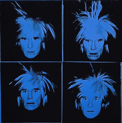 Andy Warhol, Autoritratto