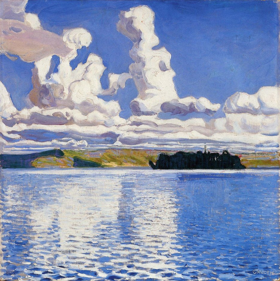 Akseli Gallen-Kallela, Cielo, 1904