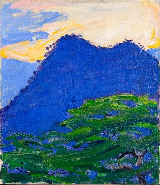 Akseli Gallen-Kallela, Le colline di Hwandoni, 1910