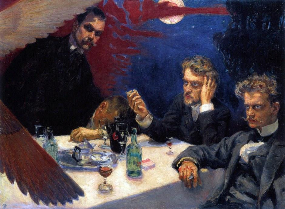 Akseli Gallen-Kallela, Simposio, 1894