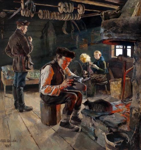 Akseli Gallen-Kallela, Vita rustica, 1887