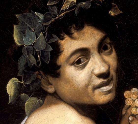 Caravaggio, Bacchino malato, 1593-94-part