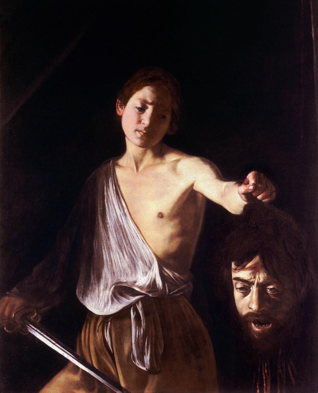 Caravaggio, David con la testa di Golia, 1609-10