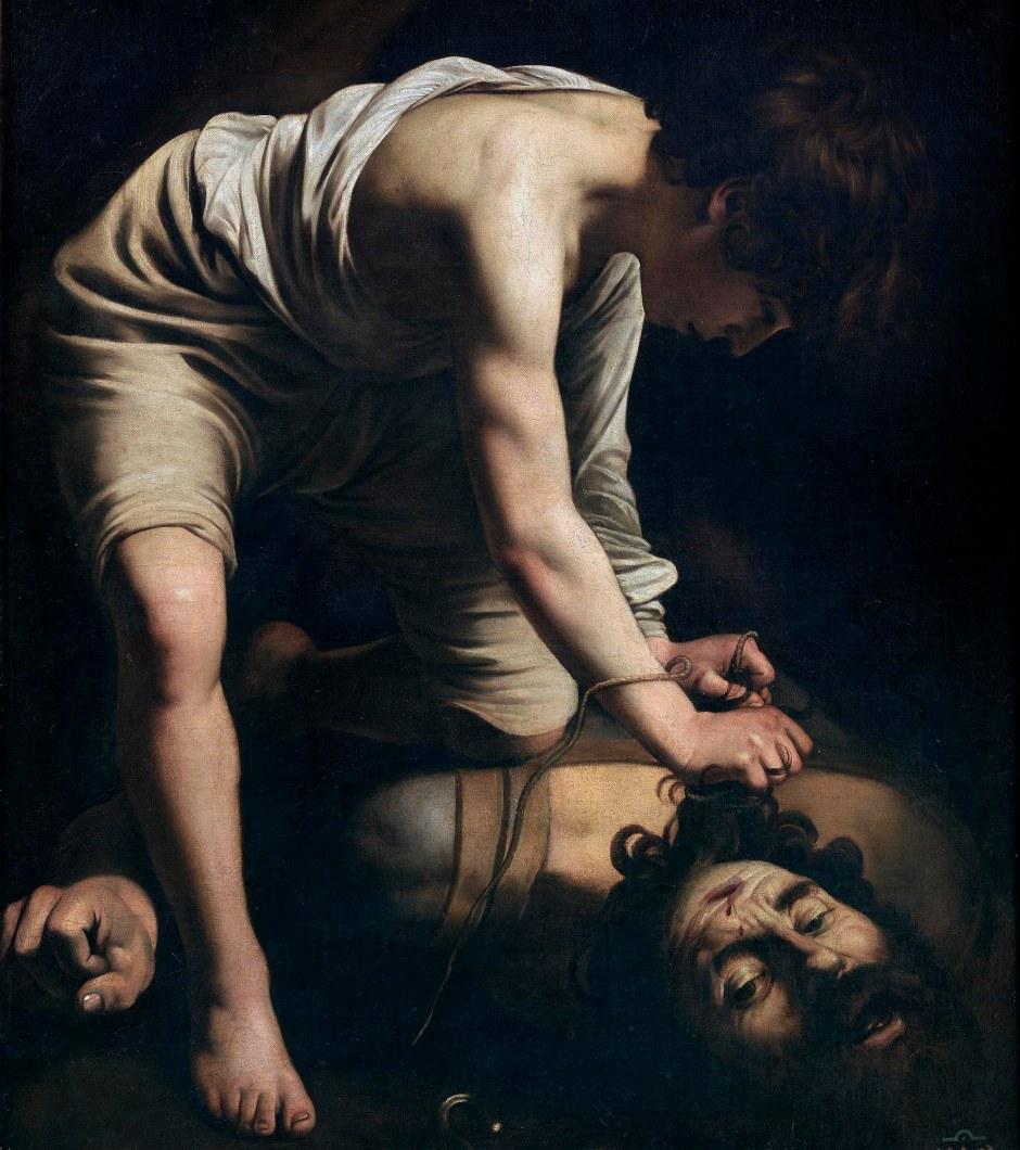 Caravaggio, Davide e Golia, 1597-98