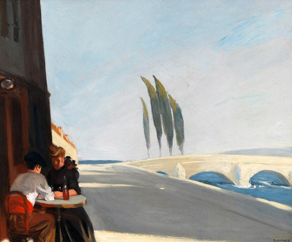 Edward Hopper, il Bistrot