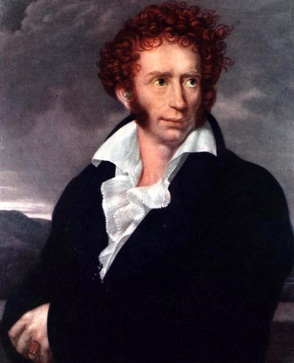 François Xavier Pascal Fabre, Ritratto di Ugo Foscolo (seconda versione)