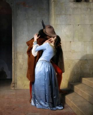 Francesco Hayez, Il bacio, 1859