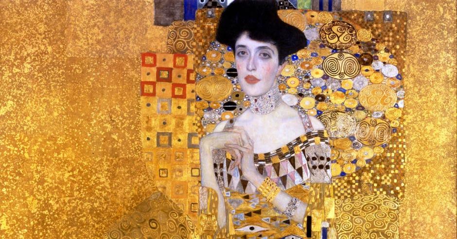 Gustav Klimt_Ritratto di Adele Bloch-Bauer I_1907-FB