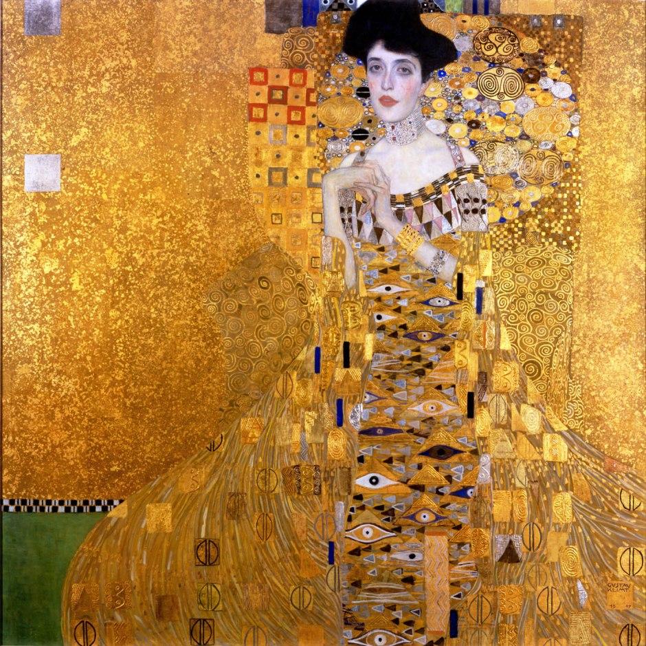 Gustav Klimt_Ritratto di Adele Bloch-Bauer I_1907