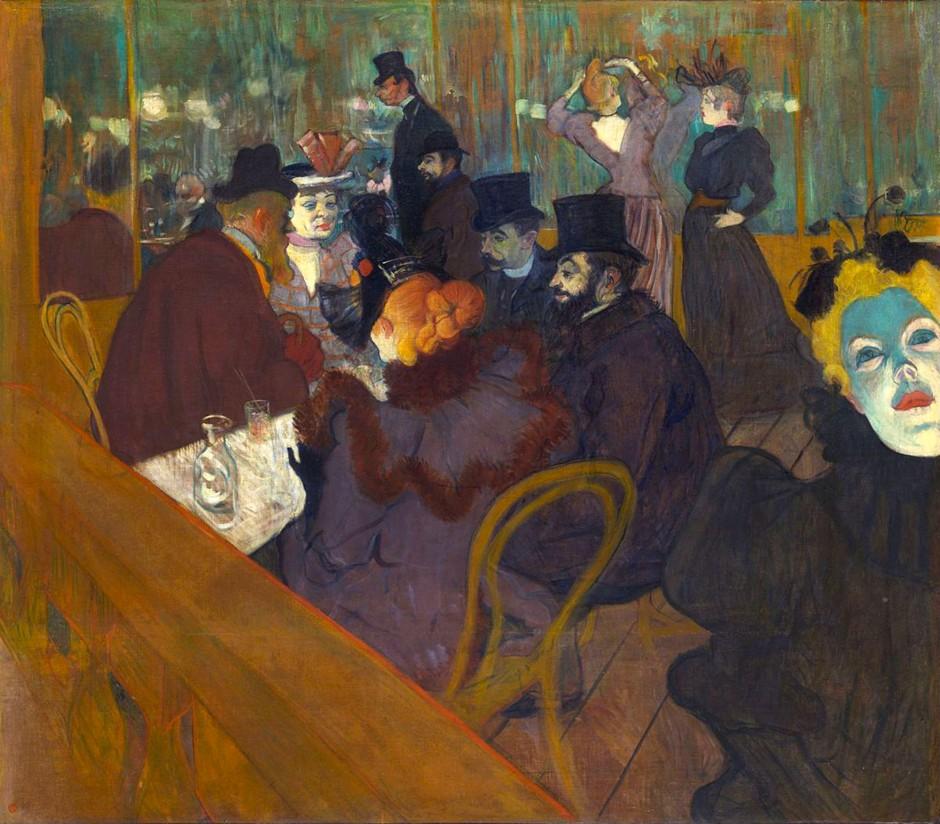 Henri de Toulouse-Lautrec, al Moulin Rouge