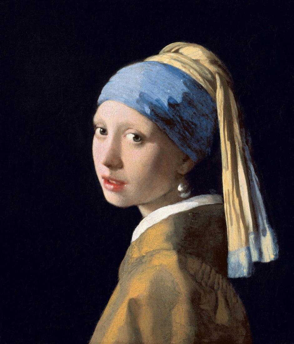 Johannes Vermeer, Ragazza col turbante-1665-2