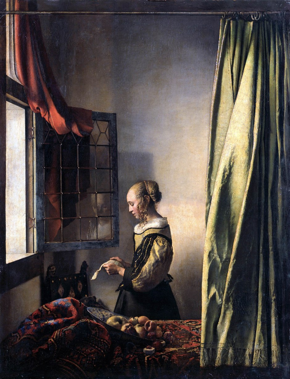 Johannes_Vermeer_Donna che legge una lettera davanti alla finestra-1657
