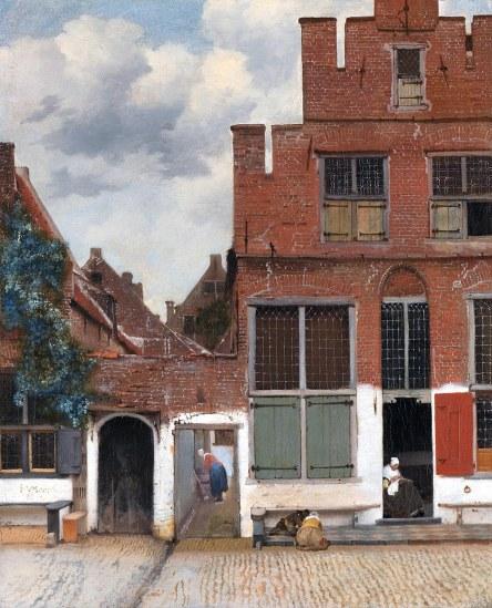 Johannes Vermeer, Stradina di Delft, 1657-58