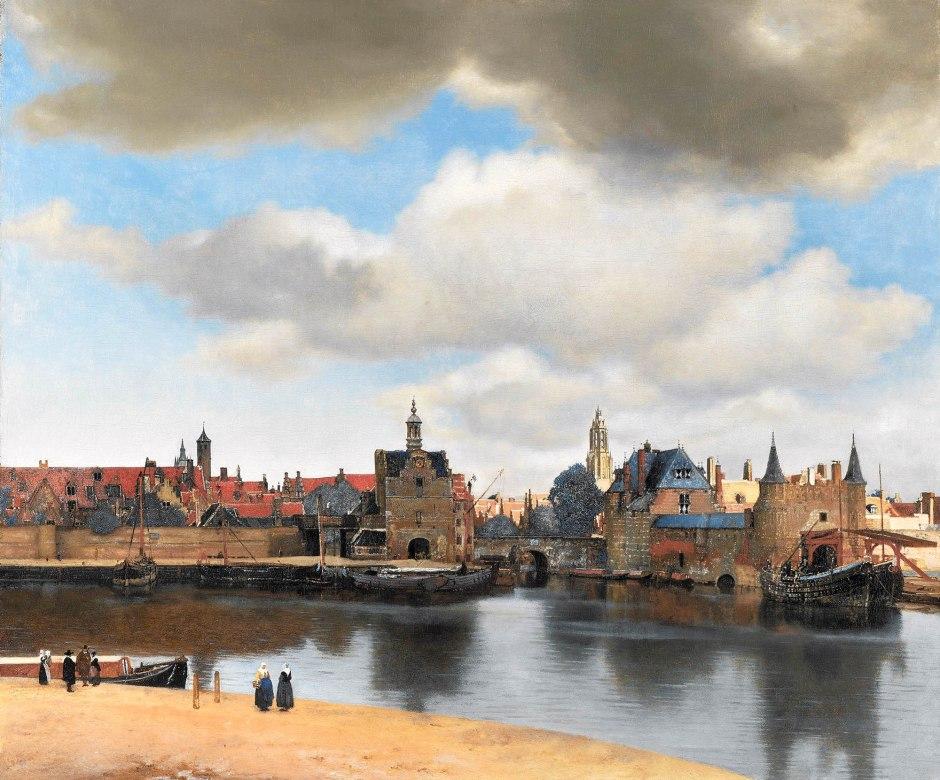 Johannes_Vermeer_veduta di Delft-1660-61