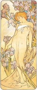 Alfons Mucha Fiori iris img