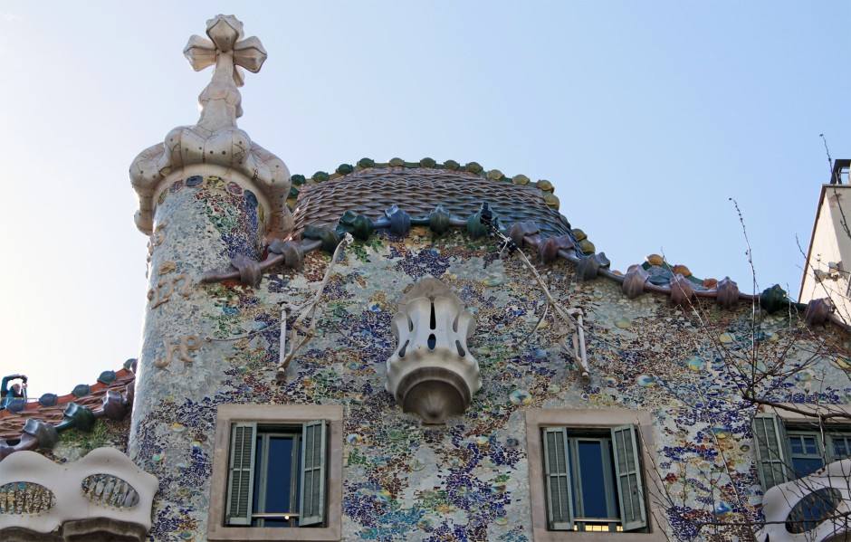 Antoni Gaudì, Casa Battlò-cut