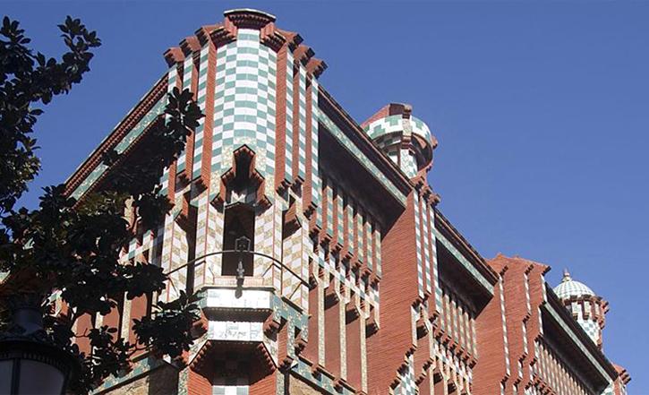 Antoni Gaudì, Casa Vicens-cut