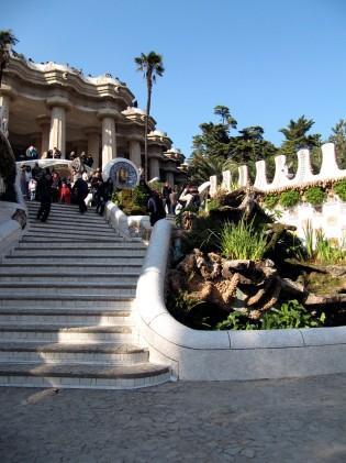 Antoni Gaudì Parc Güell scalinata img