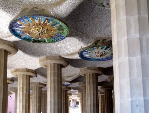 Antoni Gaudì Parc Güell colonnato img