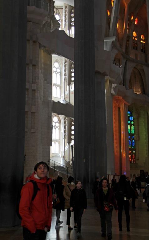 Antoni Gaudì, Sagrada Familia-interno2