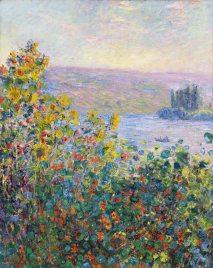 Claude Monet, Aiuole a Vétheuil img