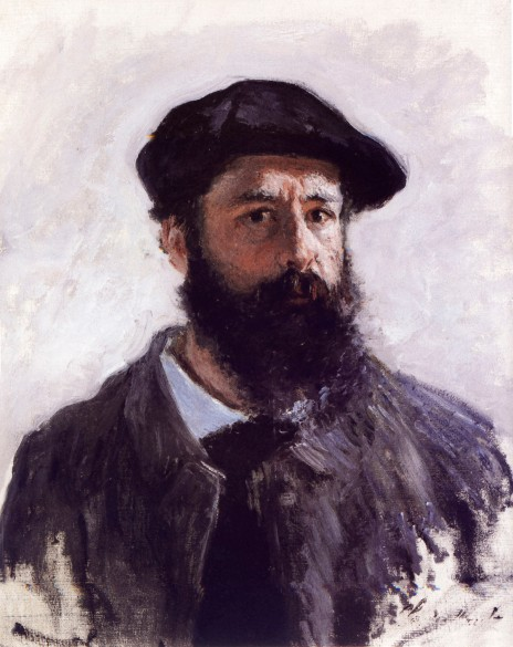 Claude Monet, Autoritratto a Beret, 1886