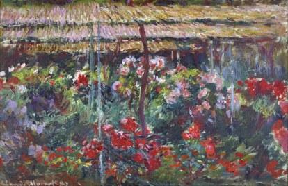 Claude Monet, Giardino delle peonie img