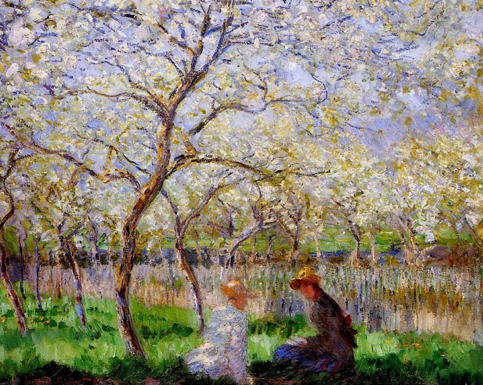 Claude Monet, Primavera, 1886
