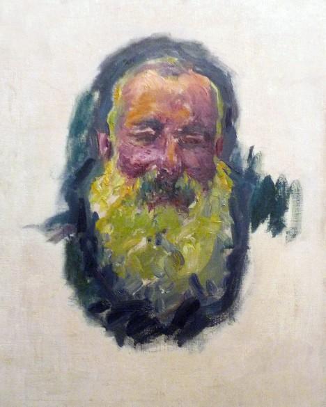 Claude Monet, Ritratto dell'artista, 1917