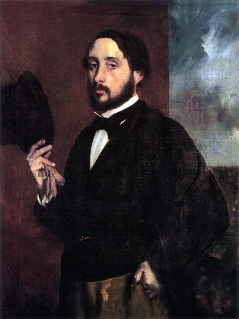 Edgar Dégas, Autoritratto, 1863