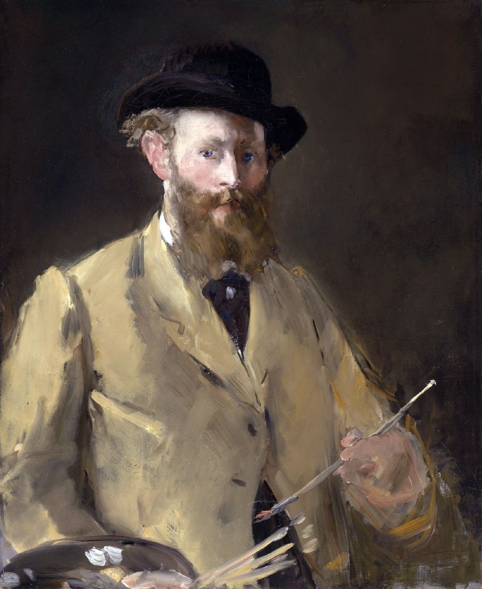 Edouard Manet, Autoritratto, 1879