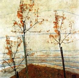 Egon Schiele, Alberi autunnali
