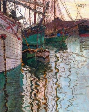 Egon Schiele, Porto di Trieste