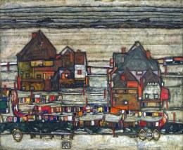 Egon Schiele, Vecchie case