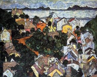 Egon Schiele, Paesaggio estivo