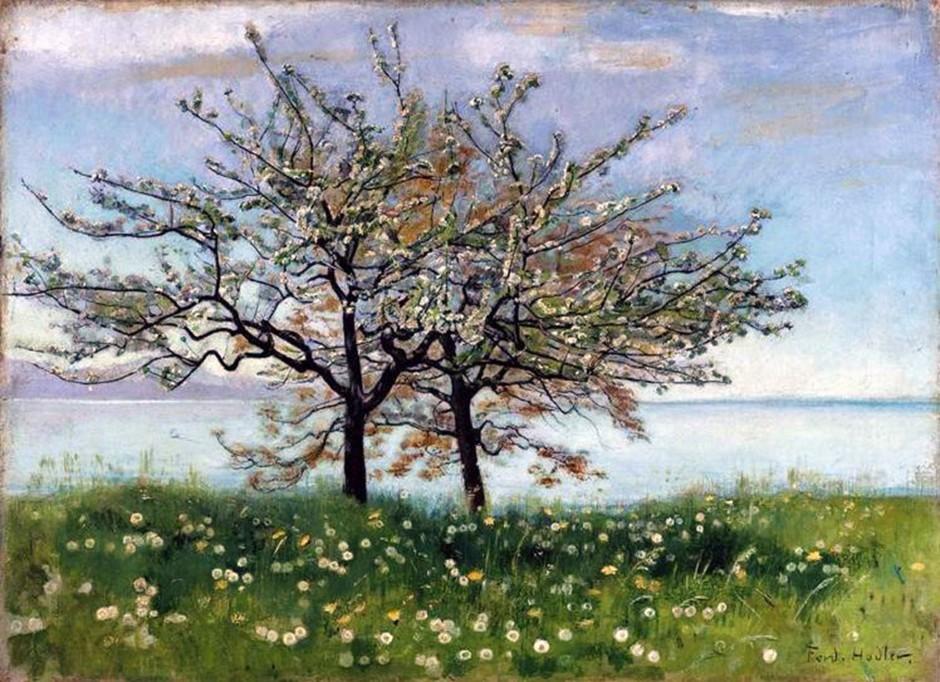Ferdinand Hodler, Paesaggio primaverile