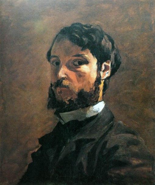 Frédéric Bazille, Autoritratto, 1864-65