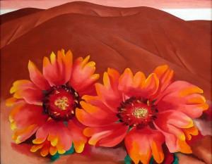 Georgia O'Keeffe quadro fiori img