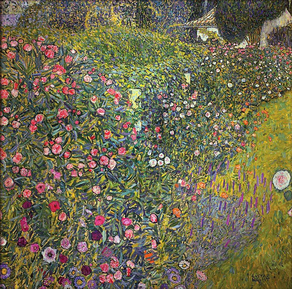 Gustav Klimt, Giardino italiano, 1913