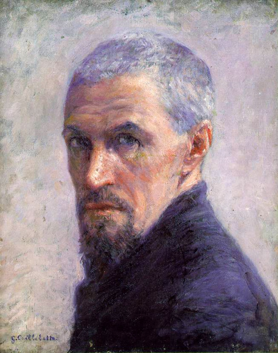 Gustave Caillebotte, autoritratto, 1892
