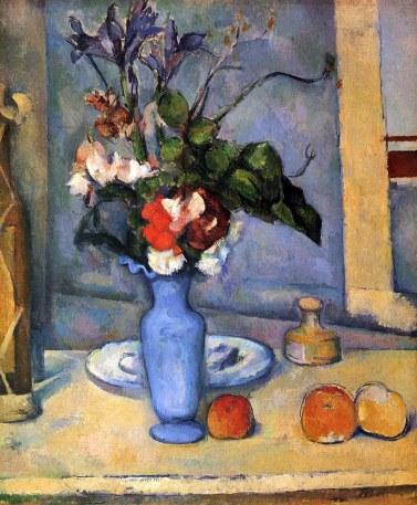 Paul Cézanne Natura morta vaso blu img