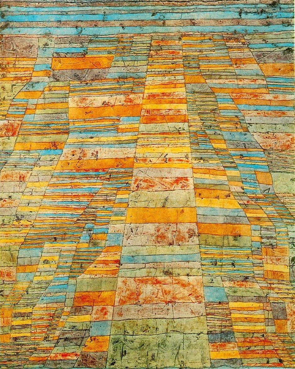 Paul Klee, Strade principali e strade secondarie