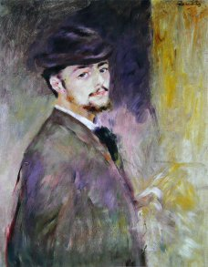 Pierre-Auguste Renoir, Autoritratto, 1876