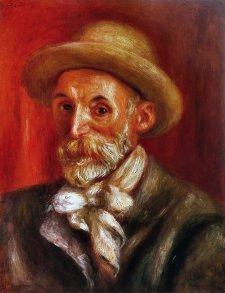 Pierre-Auguste Renoir, Autoritratto, 1910